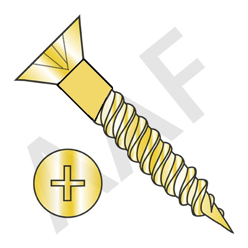 Wood Screws, Brass (inch)