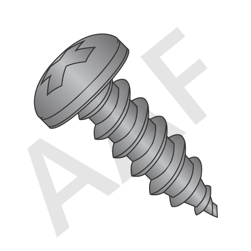 Tapping Screw, Type A, Zinc, Low Carbon (inch)