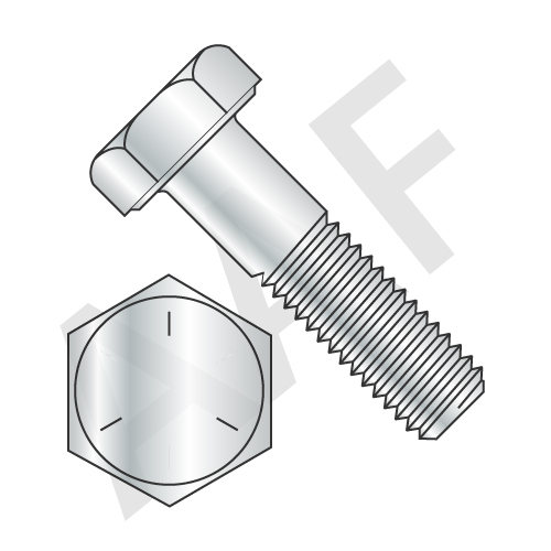Grade 5 & 8.8 Hex Cap Screws