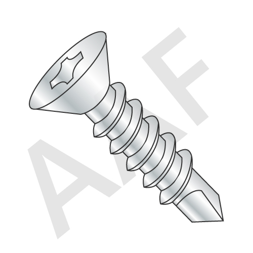 Proferred Self Drilling Screws, Zinc (inch)