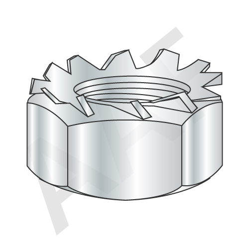 Metric Class 8 External Tooth Keps Hex Locknut