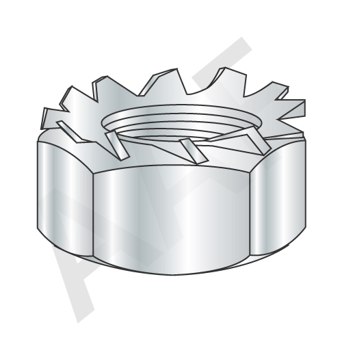 External Tooth Keps Hex Locknut
