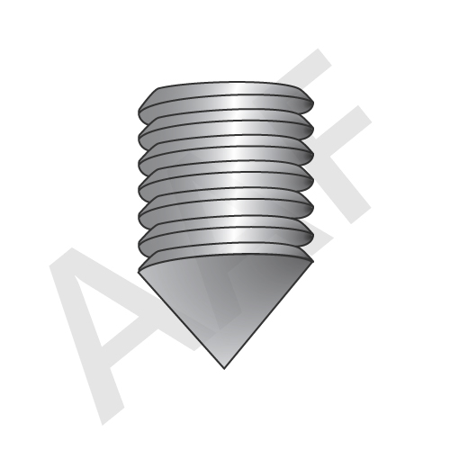 Cone Point Socket Set Screws - Stainless Steel