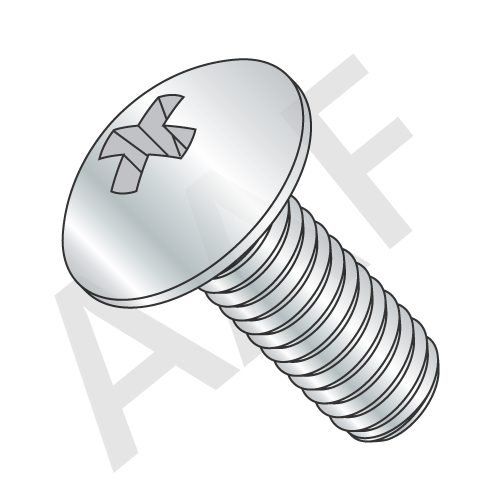 Machine Screw, Truss Head Phillips, Zinc (inch)