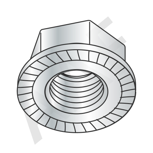 Serrated Flange Hex Locknut