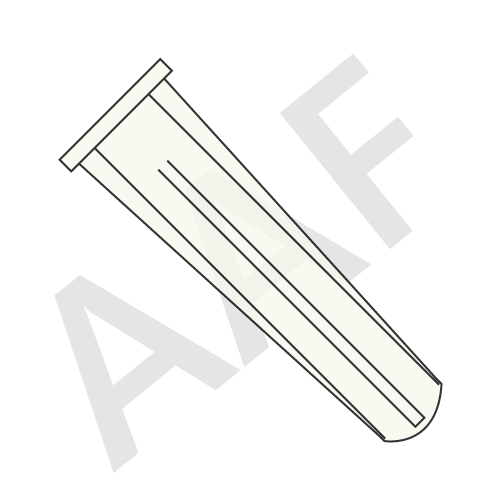 Conical Plastic Anchor Plain (inch)