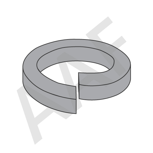 Split Lock Washer, Heavy, Thru Hardened, Plain (inch)