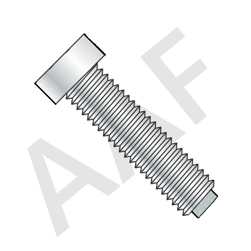 1/2 Dog Point Square Head Set Screw, Case Hardened, Plain (inch)