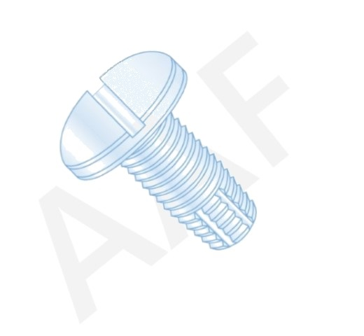 Thread Cutting Screws, Pan Slotted, Type F, Zinc (inch)