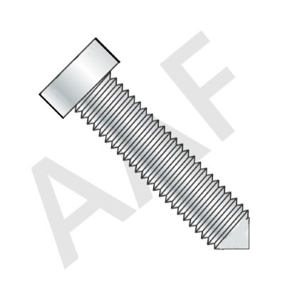 Cone Point Square Head Set Screw, Case Hardened, Plain (inch)